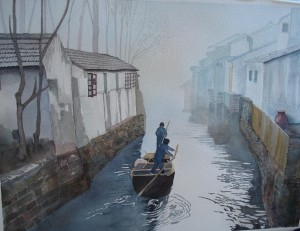 Suzhou on Grand Canal