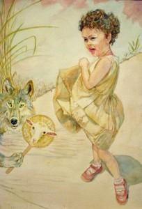 Le loup devenu l'agneau c2