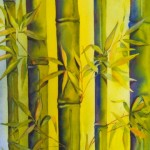 bamboo&cymbidium