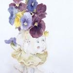 three legged vase (c)
