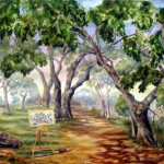 Painting of Skypark Oaks