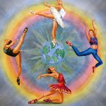 dancers transcending the world