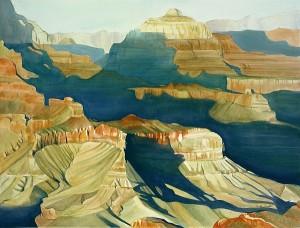 Canyon Shadows 800 x 600 dpi